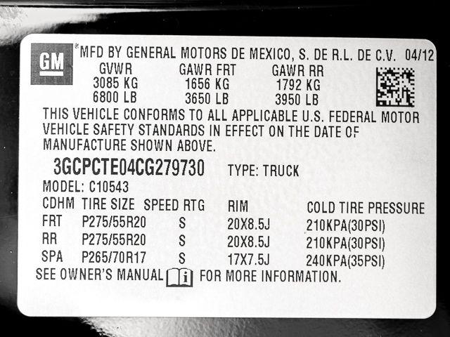2012 Chevrolet Silverado 1500 LTZ Burbank, CA 19