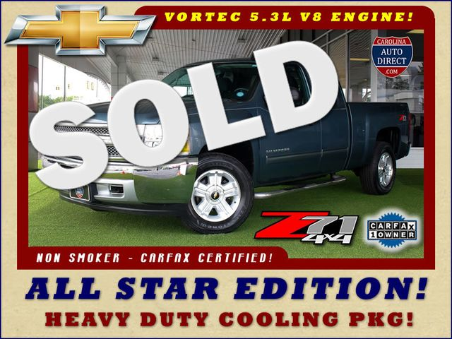 2012 Chevrolet Silverado 1500 LT EXT Cab 4x4 Z71 - ALL STAR EDITION! Mooresville , NC 0