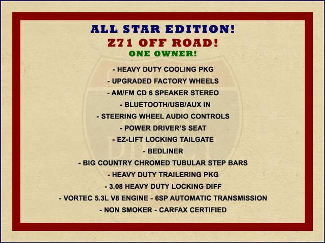 2012 Chevrolet Silverado 1500 LT EXT Cab 4x4 Z71 - ALL STAR EDITION! Mooresville , NC 1