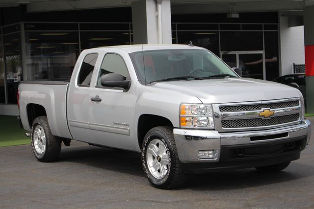 2012 Chevrolet Silverado 1500 LT EXT Cab 4x4 Z71 - ALL STAR - LEATHER! Mooresville , NC 21
