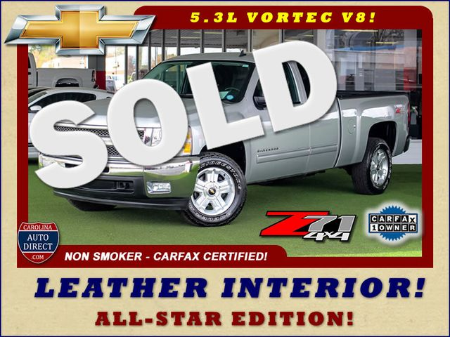 2012 Chevrolet Silverado 1500 LT EXT Cab 4x4 Z71 - ALL STAR - LEATHER! Mooresville , NC 0