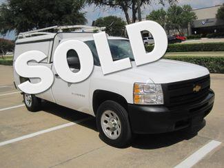 2012 Chevrolet Silverado Reg Cab Utility L/Rack, Real Nice 1 Owner Plano, Texas