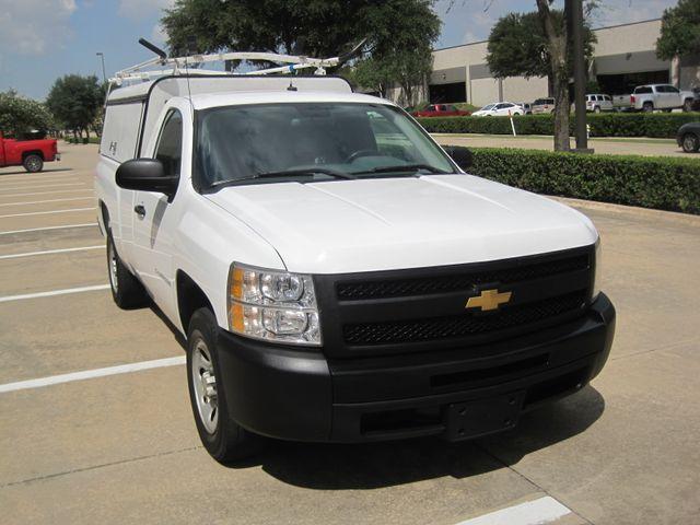 2012 Chevrolet Silverado Reg Cab Utility L/Rack, Real Nice 1 Owner Plano, Texas 1