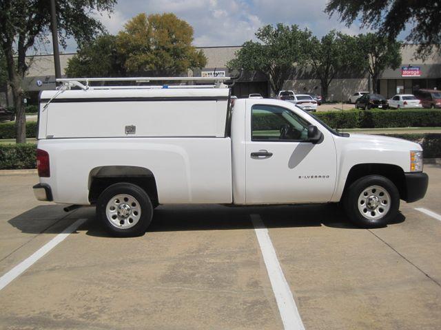 2012 Chevrolet Silverado Reg Cab Utility L/Rack, Real Nice 1 Owner Plano, Texas 6