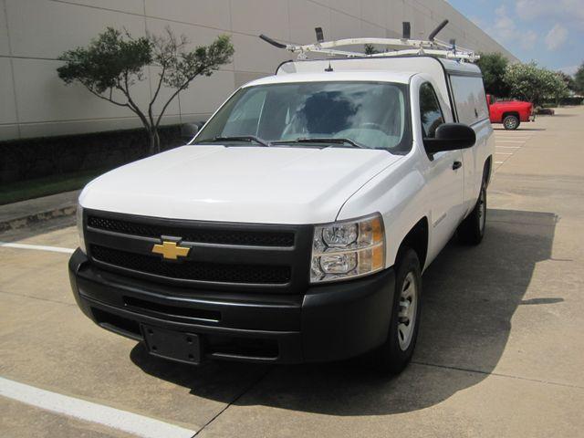 2012 Chevrolet Silverado Reg Cab Utility L/Rack, Real Nice 1 Owner Plano, Texas 3