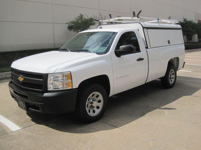 2012 Chevrolet Silverado Reg Cab Utility L/Rack, Real Nice 1 Owner Plano, Texas 4