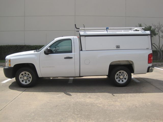 2012 Chevrolet Silverado Reg Cab Utility L/Rack, Real Nice 1 Owner Plano, Texas 5