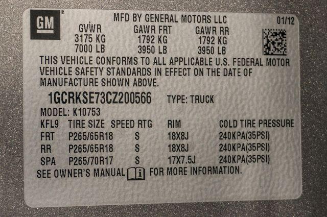 2012 Chevrolet Silverado 1500 LT 4WD - Z71 - TOW PKG Reseda, CA 33