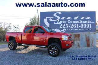 2012 Chevrolet Silverado 2500hd 4wd Crew Cab Ltz Duramax Suspension Lift New 35's  NO FLOOD TWO OWNER CLEAN CARFAX | Baton Rouge , Louisiana | Saia Auto Consultants LLC-[ 2 ]