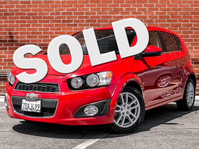 2012 Chevrolet Sonic LT Burbank, CA 0