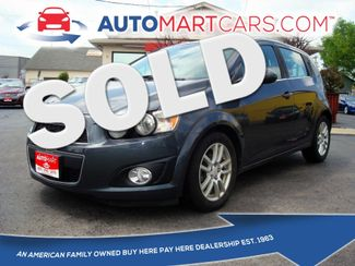 2012 Chevrolet Sonic LT | Nashville, Tennessee | Auto Mart Used Cars Inc. in Nashville Tennessee