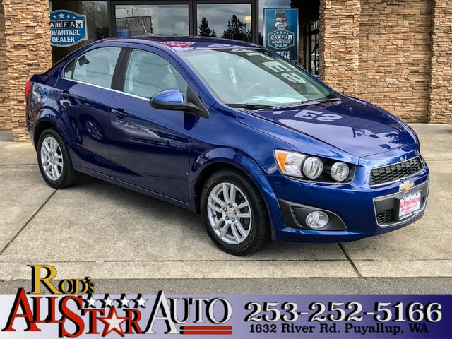 2012 Chevrolet Sonic LT The CARFAX Buy Back Guarantee that comes with this vehicle means that you
