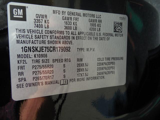 2012 Chevrolet Suburban LTZ 3RD ROW SEAT 4X4 Leesburg, Virginia 29