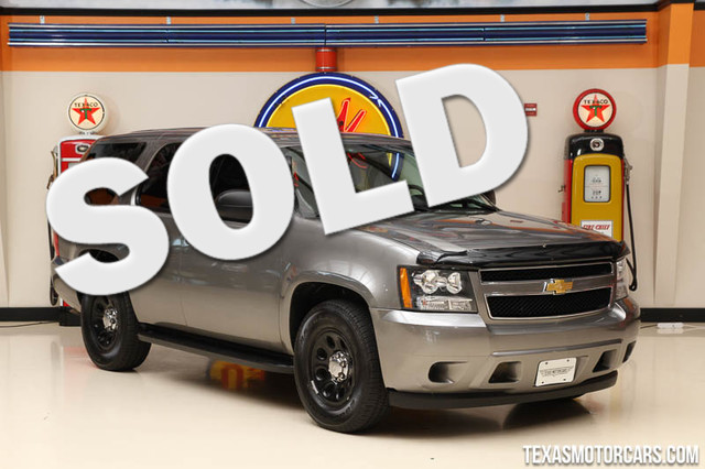 2012 Chevrolet Tahoe Police Financing is available with rates as low as 29 wac Get pre-approv
