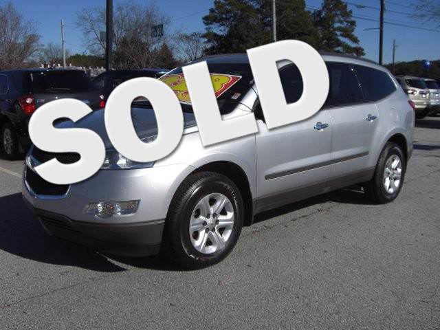 2012 Chevrolet Traverse LS SUPER SHARP VEHICLE CLEAN INSIDE AND OUT LOW MILES54 000 MILES VIN