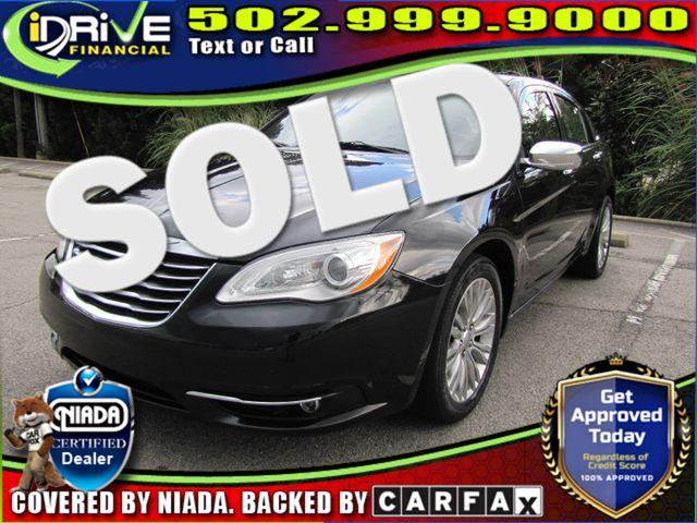 2012 Chrysler 200 Limited | Louisville, Kentucky | iDrive Financial in Louisville Kentucky