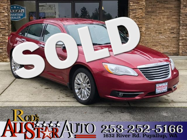 2012 Chrysler 200 Limited The CARFAX Buy Back Guarantee that comes with this vehicle means that yo