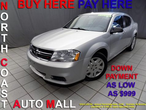 2012 Dodge Avenger SE As low as $999 DOWN in Cleveland, Ohio