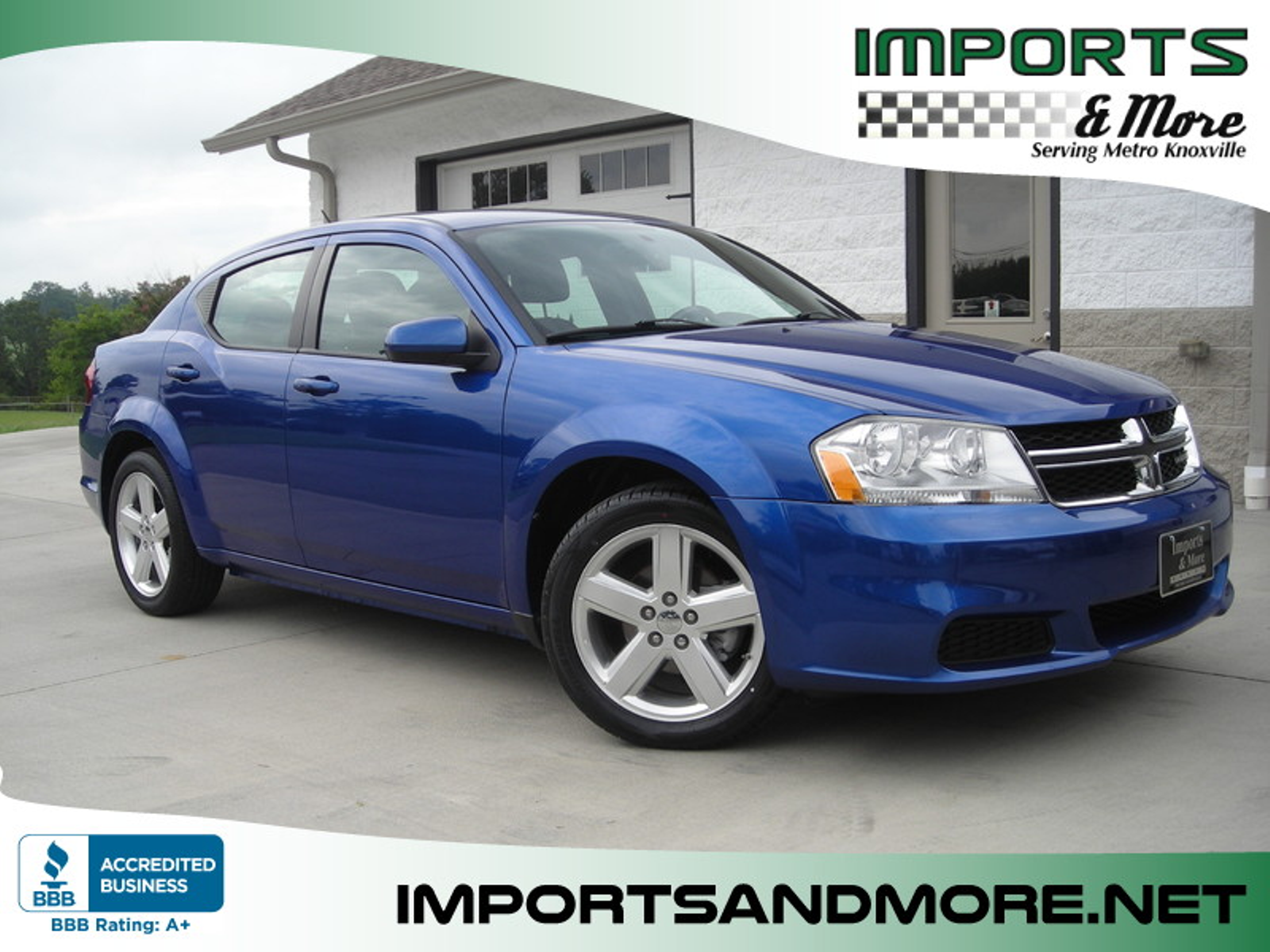 2012 Dodge Avenger SXT Imports and More Inc