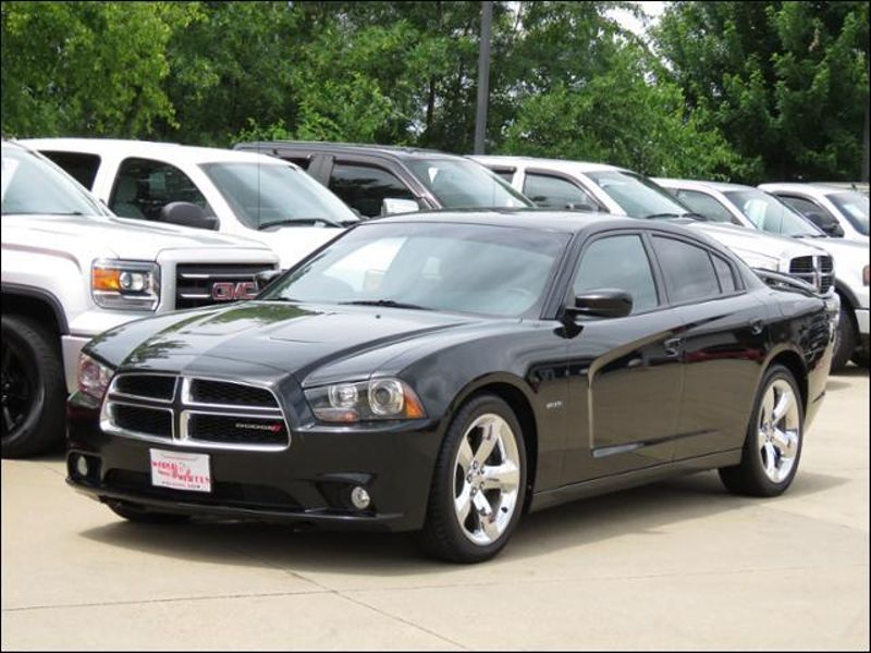 2012 Dodge Charger RT Plus Road &Track Pkg Black with Red Leather  in Ankeny IA