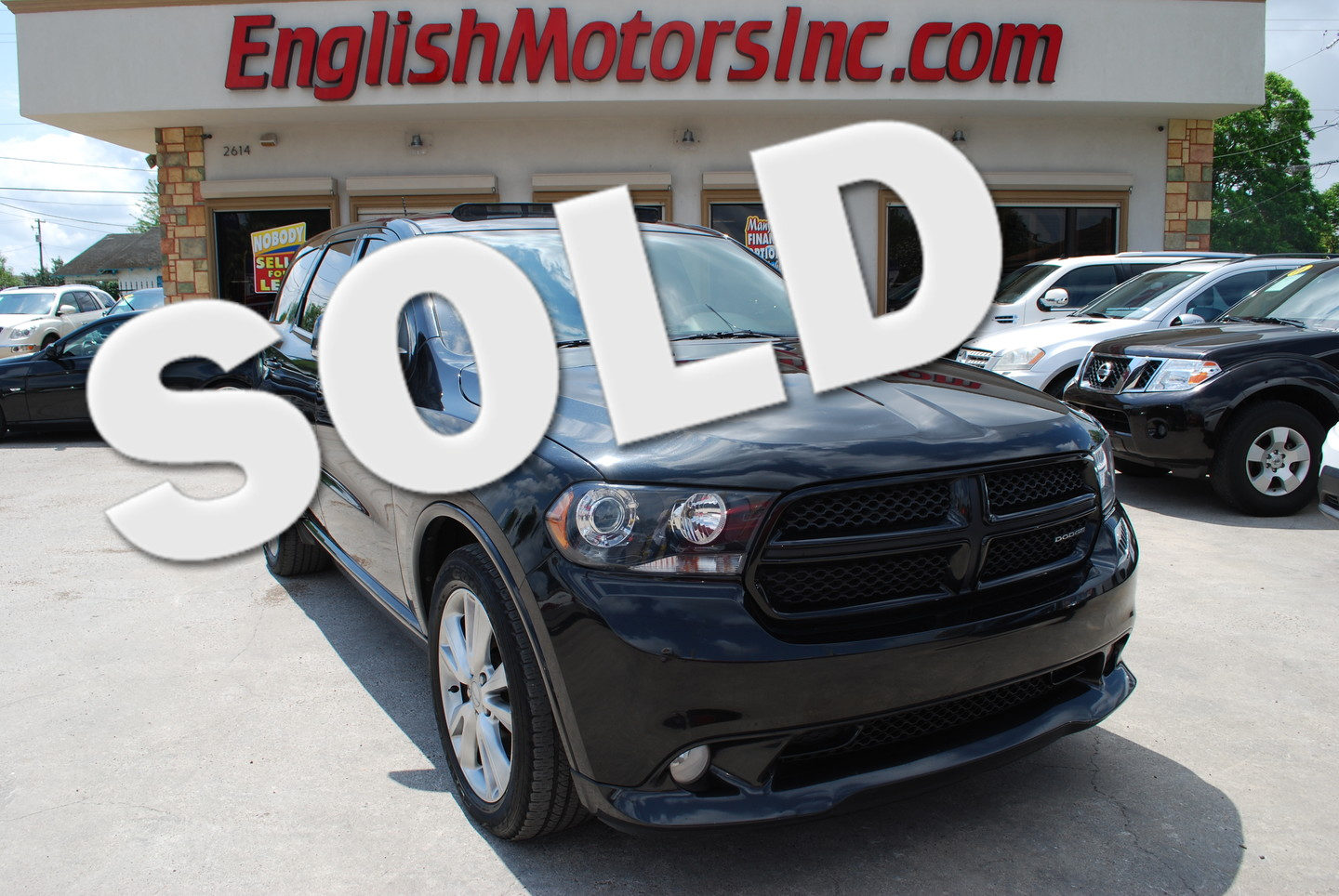 2012 dodge durango rt brownsville tx english motors English motors inc