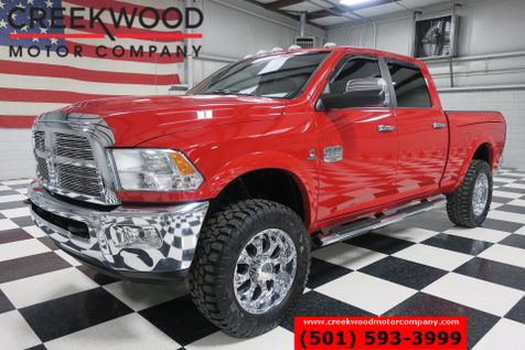 2012 Dodge Ram 2500 Laramie Longhorn 4x4 Diesel Red Nav Tv Dvd Chrome in Searcy, AR