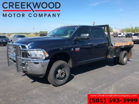 2012 Dodge Ram 3500 Flatbed 4x4 Diesel Dually 6 Speed Manual New Tires in Searcy, AR