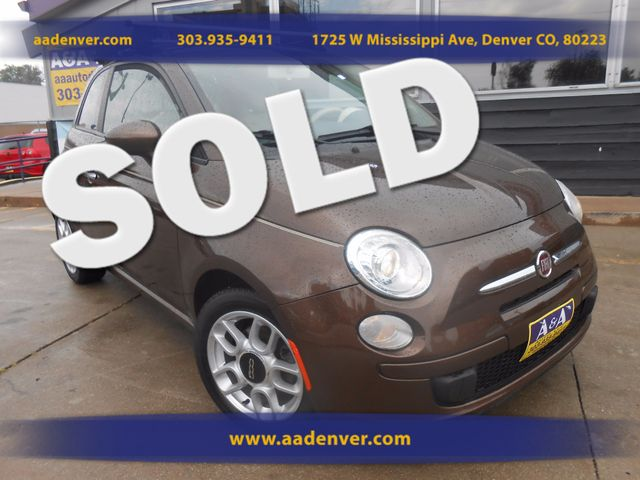 2012 Fiat 500 Pop | Denver, CO | AA Automotive of Denver in Denver CO