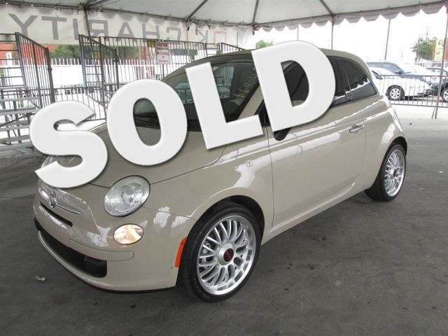 2012 FIAT 500c Pop Please call or e-mail to check availability All of our vehicles are availabl