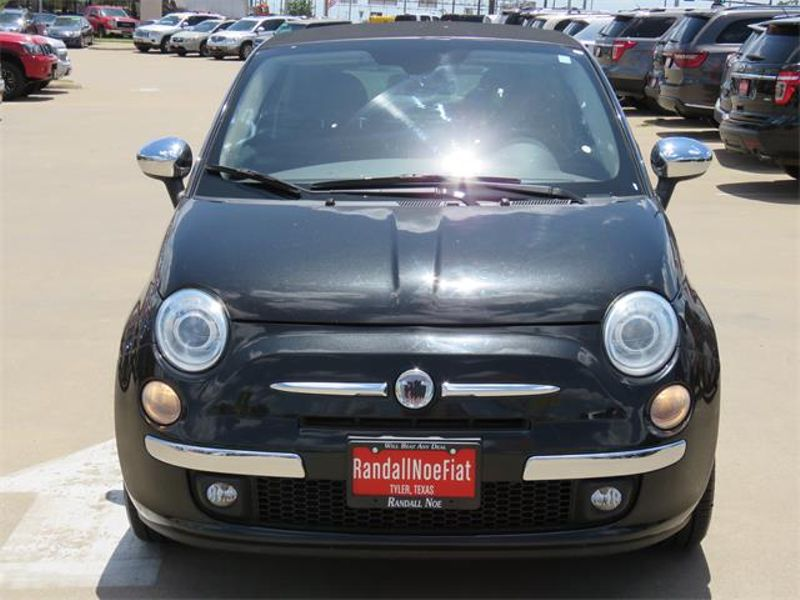 2012 Fiat 500c Lounge   Randall Noe Super Center   Tyler TX 75701