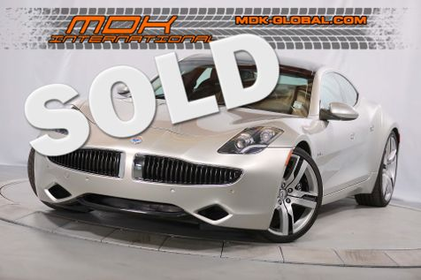 2012 Fisker Karma EcoSport - Signature edition - 71 out of 100 made in Los Angeles