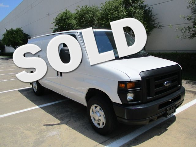 2012 Ford E-Series Cargo Van Commercial Bins & Invertor Plano, Texas 0