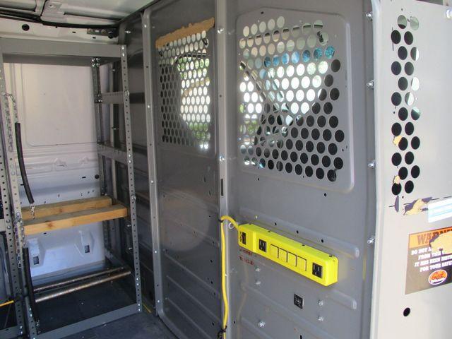 2012 Ford E-Series Cargo Van Commercial Bins & Invertor Plano, Texas 13