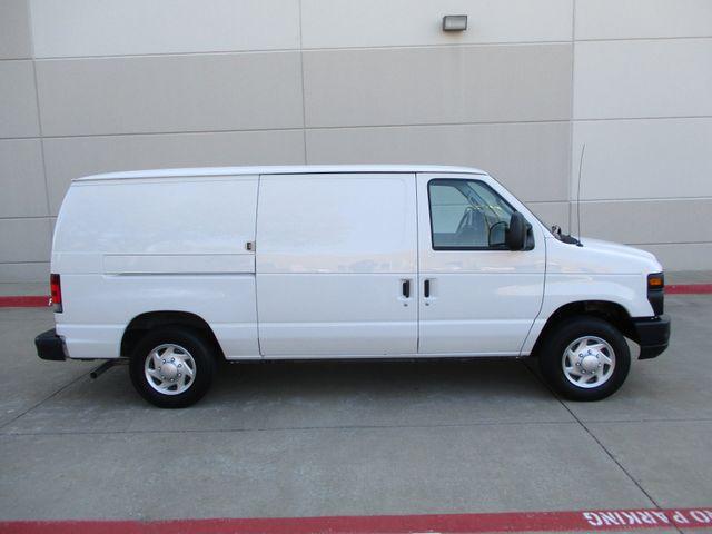 2012 Ford E-Series Cargo Van Commercial Bens and Bulk Head Plano, Texas 2