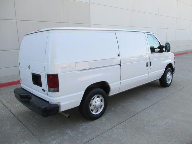 2012 Ford E-Series Cargo Van Commercial Bens and Bulk Head Plano, Texas 3