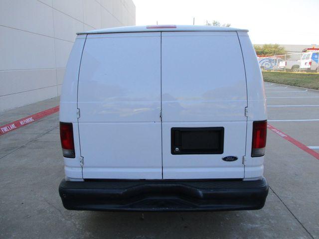 2012 Ford E-Series Cargo Van Commercial Bens and Bulk Head Plano, Texas 4