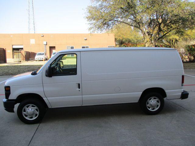 2012 Ford E-Series Cargo Van Commercial Bens and Bulk Head Plano, Texas 8
