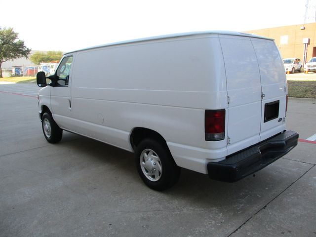 2012 Ford E-Series Cargo Van Commercial Bens and Bulk Head Plano, Texas 9