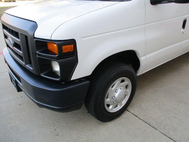 2012 Ford E-Series Cargo Van Commercial Bens and Bulk Head Plano, Texas 10