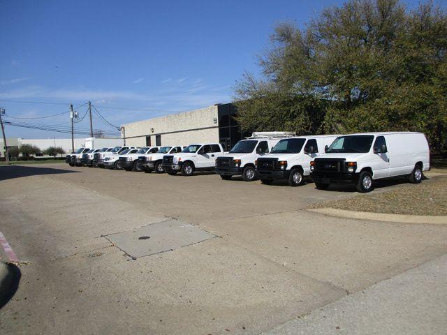 2012 Ford E-Series Cargo Van Commercial Bens and Bulk Head Plano, Texas 0