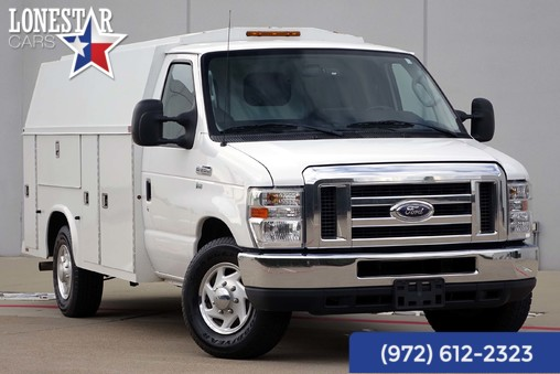 2012 Ford E-350 Enclosed Utility Bed