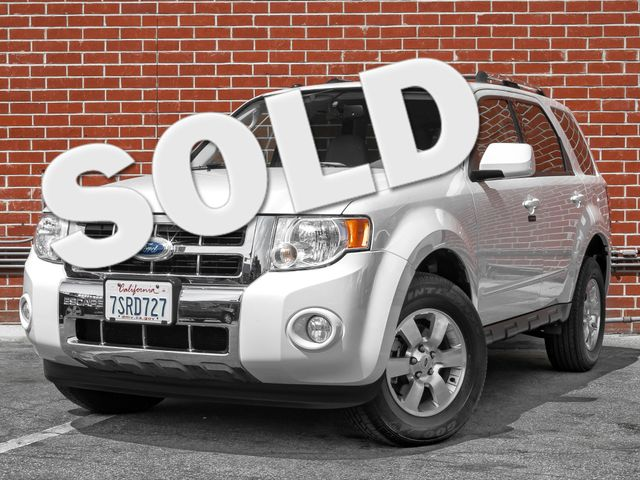 2012 Ford Escape Limited Burbank, CA 0