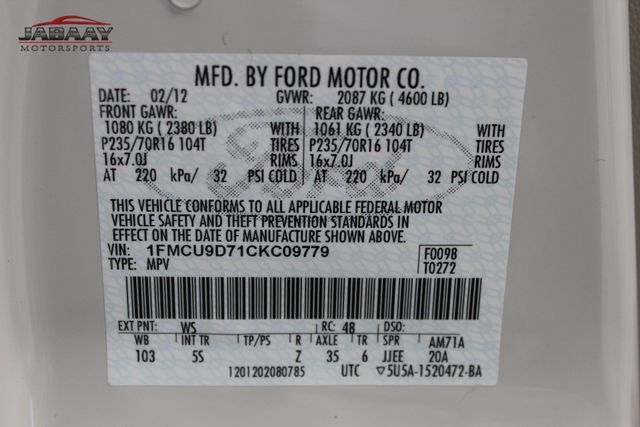 2012 Ford Escape XLT Merrillville, Indiana 46