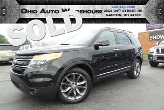 2012 Ford Explorer Limited 4x4 Navi Pano 3rd Row We Finance | Canton, Ohio | Ohio Auto Warehouse LLC in  Ohio