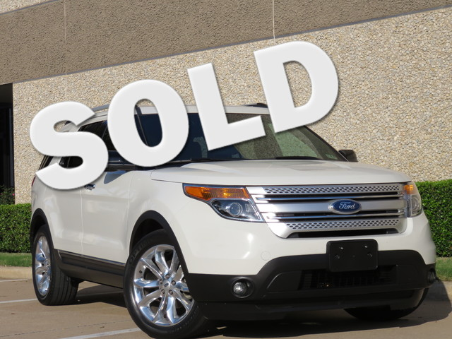 2012 Ford Explorer XLT FORD IS THE BEST IN TEXAS Come check out the new body style of this excep