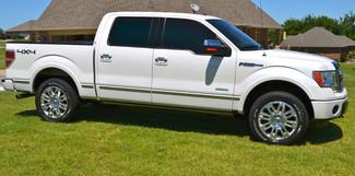 2012 Ford F-150 4x4 Nav DVD Bed Cover Platinum Lindsay, Oklahoma 5