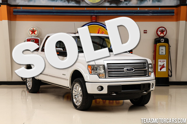 2012 Ford F-150 Platinum This 2012 Ford F-150 Platinum is in excellent condition with only 141 12