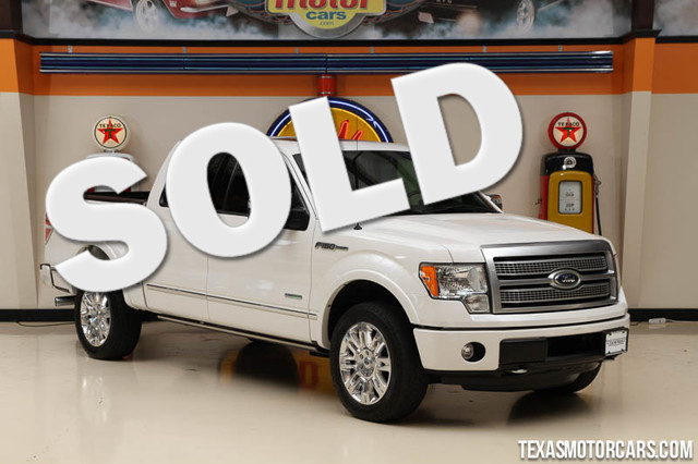 2012 Ford F-150 Platinum This Carfax 1-Owner 2012 Ford F-150 Platinum is in great shape with only