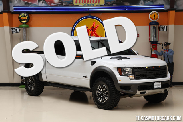 2012 Ford F-150 SVT Raptor The F-150 Raptor was specifically designed to do one thing go fast wit