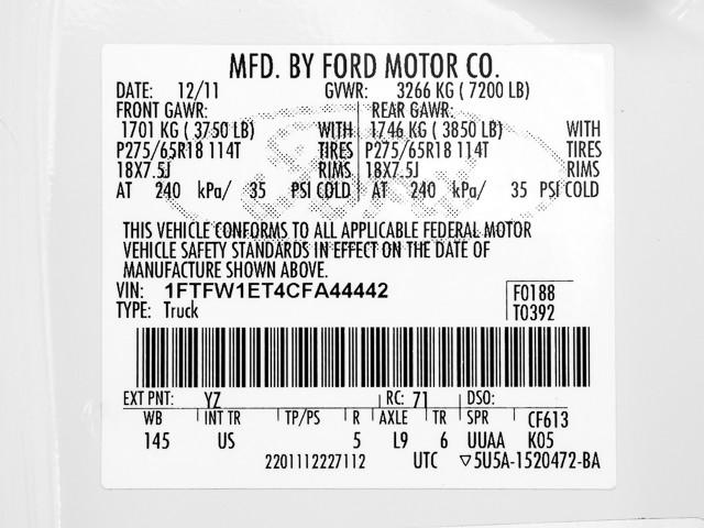 2012 Ford F-150 XLT Burbank, CA 11